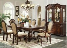Chateau De Ville Espresso Finish 7 Pc Dining Table Set Chairs Dining Room Home