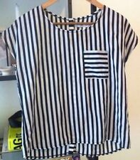 ZARA Women's Striped Tops and Blouses