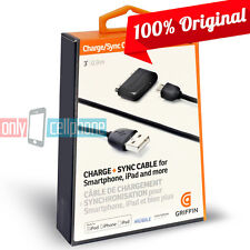 Original Griffin Charge Sync Micro Data Cable Kit for Apple iPhone 4 iPad Galaxy