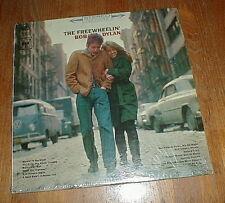 "BOB DYLAN 1965 ""Freewheelin' Bob Dylan"" LP w Blowin' In The Wind 2-EYE SEALED"