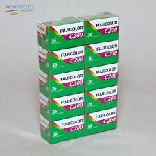 FUJI Fujicolor C 200 Negativ-Farbfilm, 135-36, 10 Stück