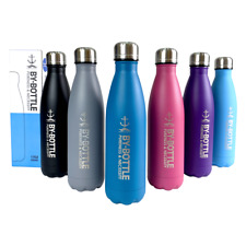 Stainless Steel Water Bottle Sport Gym Flask Thermos Drink Travel Double Walled