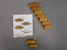 Lot of 12 Dale RER50F1000R(7) NH25-5.1(2) RER45F5R11R(3) Resistors NEW