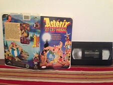 Asterix et les indiens VHS tape & sleeve FRENCH
