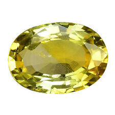 Oval Yellow Loose Sapphires