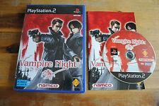 Jeu VAMPIRE NIGHT sur Playstation 2 PS2 CD REMIS A NEUF