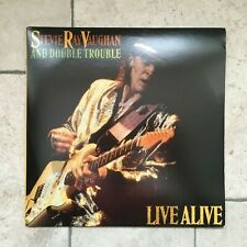 "Stevie Ray Vaughan and Double Trouble_Live Alive_2 X Vinile LP 33""_1986 Epic USA"