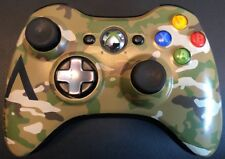 XBOX 360 ✔ OFFICIAL OEM CAMO CAMOUFLAGE SPECIAL WIRELESS CONTROLLER GAMEPAD ✔