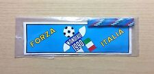 ADESIVO + BRACCIALETTO - FORZA ITALIA - WORLD CUP 1990 - ITALIA '90 -NEW STICKER