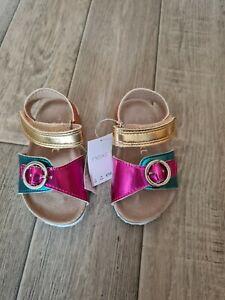 Girls NEXT Summer Sandles Size 3 *NEW* infant
