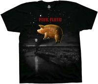 AUTHENTIC PINK FLOYD BAND PIG OVER LONDON BLACK MUSIC ROCK T SHIRT S M L XL XXL