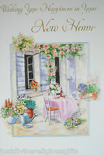 Wishing You Happiness in Your New Home Card  Foral Religious Christian 20924