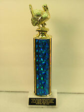 "Turkey BBQ Cookout Award Trophy 12""  FREE Engraving Shipped 2 Day Mail"