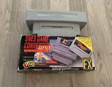 SNES game converter, adaptador Fire Europe versiion (para Super Nintendo)