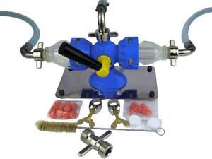 Bierleitungsreinigungsgerät Bevi Handy Set Zapfanlage Bierschlauch reinigen