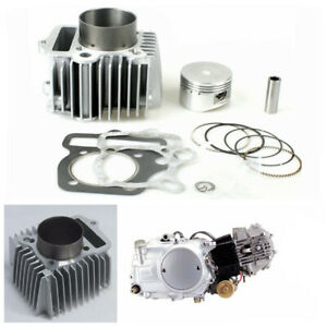 54mm Piston Ring Gasket Cylinder Kit For 110 to 125cc Scooter Moped Dirt Pit ATV