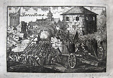 BELAGERUNG SETGE DE BARCELONA SIEGE SITIO 1705 ERBFOLGEKRIEG GUERRA DE SUCESIÓN