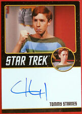 Star Trek Tos 50th, Craig Huxley as Tommy Starnes, Autograph Card