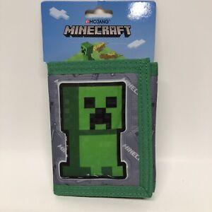 Minecraft Bioworld Tri Fold Wallet for Children NEW