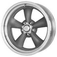 15X4 AMERICAN RACING TORQ THRUST II 2 D MAG GRAY ALUMINUM WHEEL 5X4.5 VN2155465