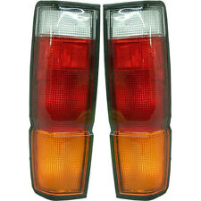NEW TAIL LIGHT LENS AND HOUSING SET OF 2 LH & RH SIDE FITS NISSAN PICKUP D21