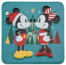 Disney Mickey Mouse Minnie Trivet Hot Pad Worktop Protector Share the Magic Xmas