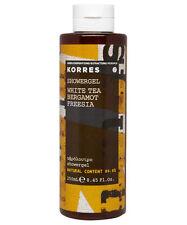 Korres Natural Moisturising Perfumed Shower Gel WHITE TEA BERGAMOT FREESIA 250ml