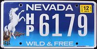 "NEVADA "" WILD & FREE - WILDLIFE HORSE "" 2013 NV Specialty License Plate"