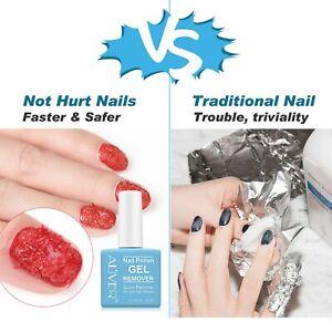 Soak off Removal Magic Nail Polish Remover for UV Gel Acrylic Dip Powder Nails