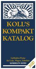 Koll's Kompaktkatalog Märklin 00/H0 2020 Joachim Koll