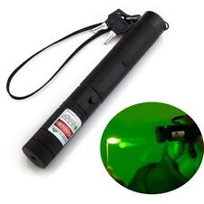 Military Green Laser Pointers USB Charging Pen Torch Bright Powerful 30000m