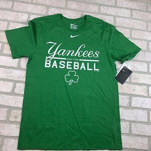 Mens Nike Medium New York Yankees Green Tshirt NWT