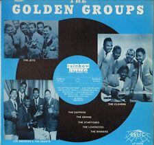 """THE GOLDEN GROUPS """"RAINBOW RECORDS, VOL. 16"""" DOO WOP 80'S LP RELIC 5034"""