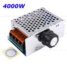 High Power 4000W AC 220V SCR Speed Controller Motor Electronic Voltage Regulator