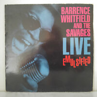 Barrence Whitfield and the Savages – Live Emulsified - Vinyl, LP, Album - 1989