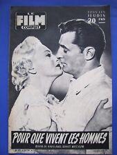 Le Film Complet N°575 - Pour Que Vivent Les Hommes Robert Mitchum Olivia de ...