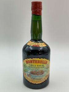 RHUM RUM RON MONTEBELLO VIEUX GUADELOUPE 1984 42%  LIMITED  70cl. PERFECT LEVEL