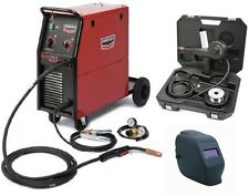 Century/Lincoln K2783-1SH 255 MIG Welder with spool gun and KH605 helmet (NEW)