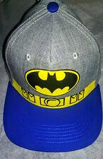 CLASSIC BATMAN UTILITY BELT HAT✰  DC COMICS HERO CAP BRAND NEW 1 SIZE