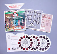 Vintage 1977 GAF View-Master | THE NEW MICKEY MOUSE CLUB 3-Reel Set | Free S&H !