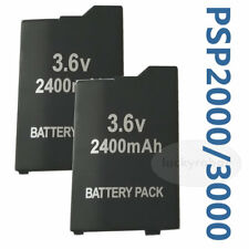 2X BATTERY For PSP SONY PLAYSTATION PSP 2000 PSP 3000 RECHARGEABLE BATTERY