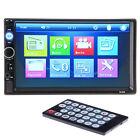 7'' 2 DIN EN SALPICADERO HD Bluetooth Pantalla Táctil equipo estéreo para coche