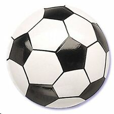 1 Soccer Cake Topper Sports Decoration Team Party Jersey Black White