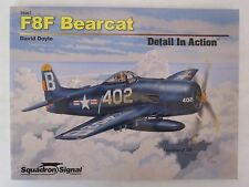 Squadron/Signal Book - F8F Bearcat Detail in Action #39007 SC