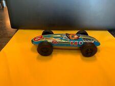 Vintage STP/Valvoline #16 Tin Race Car/Made in Japan