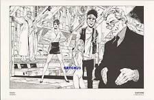 JOHN BYRNE ORIGINAL 1986 DC COMICS VINTAGE ART PRINT FREAKS - CLASSIC JB ARTWORK