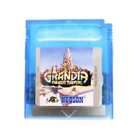 Grandia Parallel Trippers for Nintendo Gameboy Color GBC Atlus RPG English Game