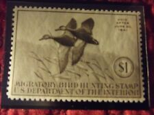 1940 FEDERAL DUCK STAMP RW-7 MINT OG H-- WELL CENTERED!!