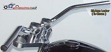 LSL Lenker Roadster L01 25,4mm 1 Zoll Chrom passend f. Kawasaki Yamaha Honda