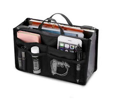 Women Travel Insert Handbag Organizer Purse Large Liner Organizer Tidy Bag New